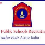 army-public-School-TGT PGT PRT Results 2018
