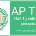 AP TET 2018 Hall Ticket Download @ aptet.apcfss.in (10 -19 Jun 2018)