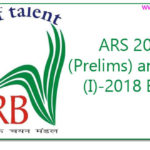ARS 2017 (Prelims) and NET (I)-2018 Exam