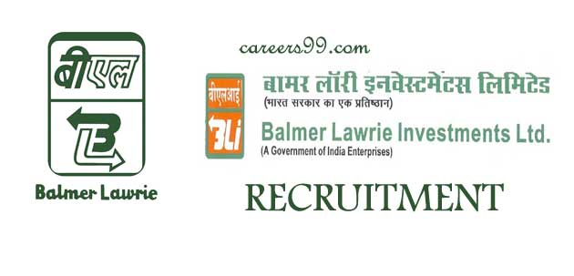 balmer lawrie investments ltd careers with no degree