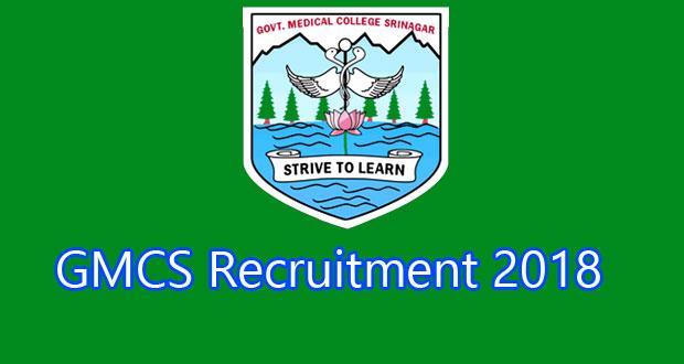 GMCS-recruitment