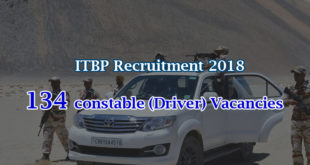 ITBP Constable Recruitment