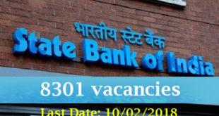 SBI-8301-vacancy