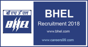 bhel Trichy Artisan Recruitment 2018