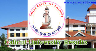 calicut-university-results