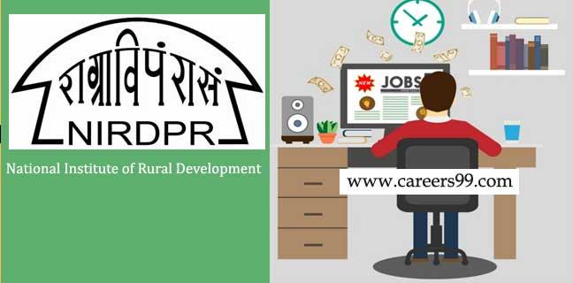 NIRDPR Recruitment