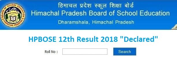 HPBOSE-12th-Result 2018