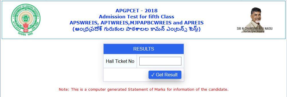APGPCET - 2018