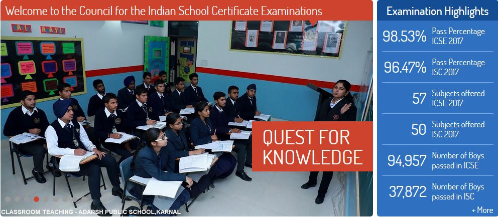 CISCE 10 12 Results