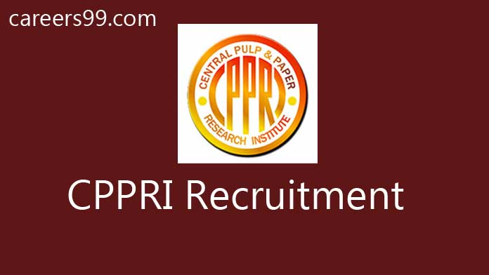 CPPRI Recruitment