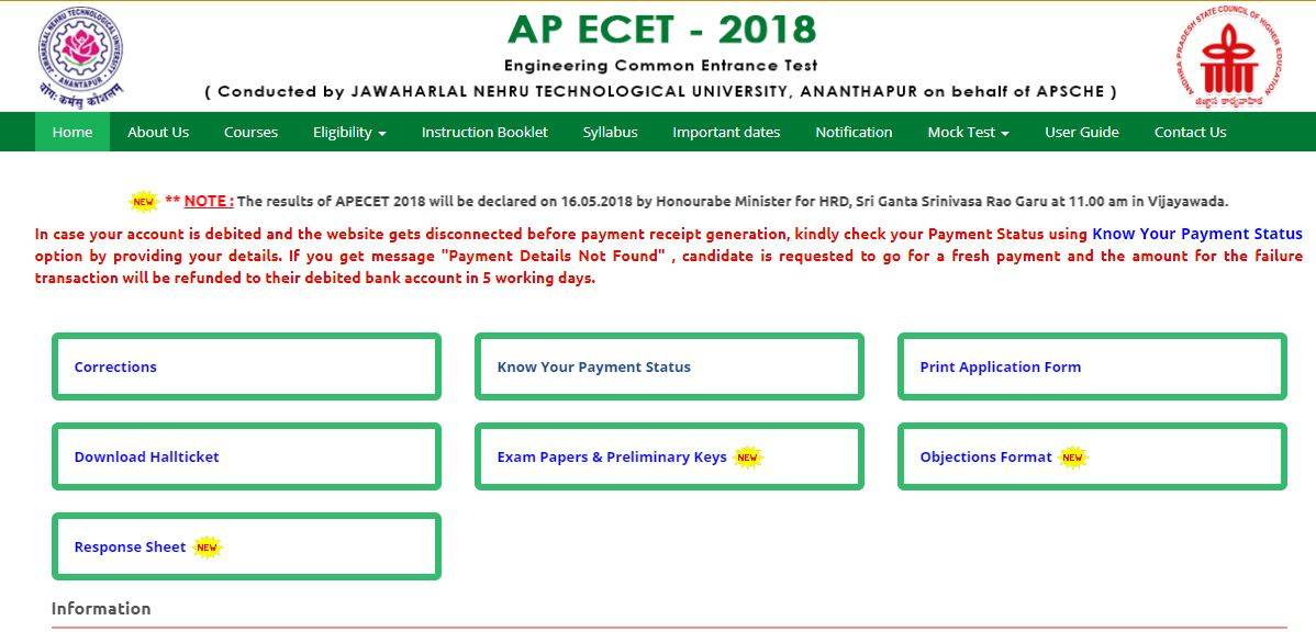ap ecet results date