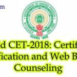 APEdCET 2018 Counselling – Process, Dates, Details of AP EDCET 2018