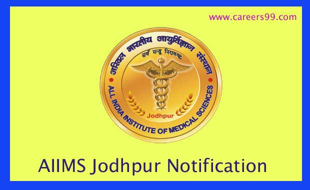 AIIMS Jodhpur Notification