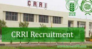 CRRI Recruitment
