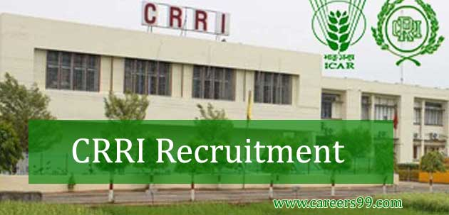 CRRI Recruitment