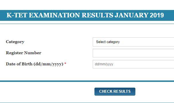 KTET January 2019 Results [Released]| Kerala Teacher
