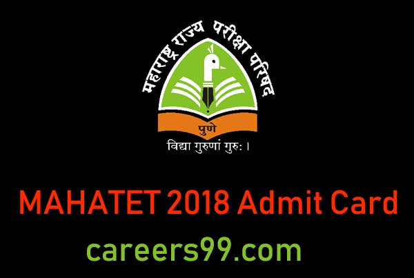 MAHATET 2018 Admit Card