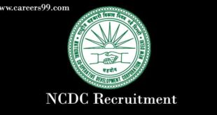 NCDC-Recruitment