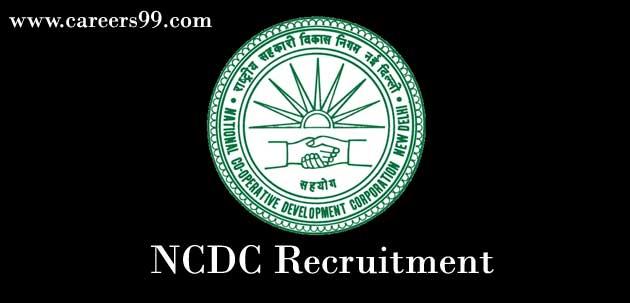 NCDC-Recruitment