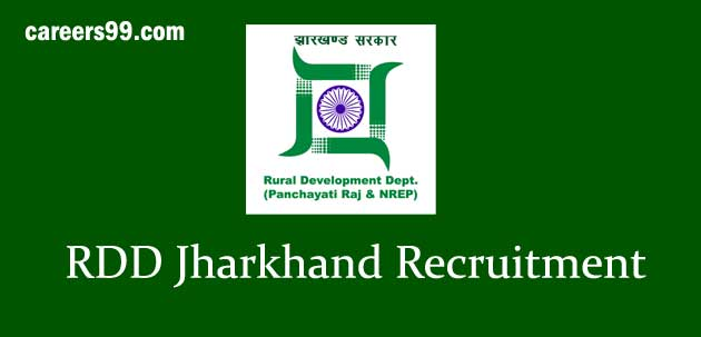 rdd-jharkhand recruitment 2018