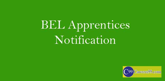 BEL Apprentices Notification