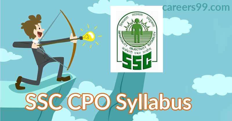 SSC-CPO--Syllabus