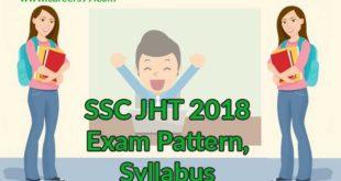 SSC-JHT