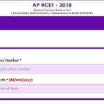 AP RCET 2018 Hall Ticket    Download APRCET – 2018 Hall Ticket Here @ sche.ap.gov.in