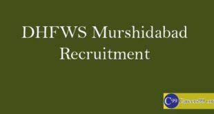 DHFWS Murshidabad Recruitment