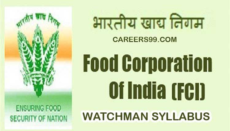 FCI Watchman Admit Card