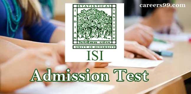 ISI Exam Pattern
