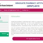GPAT 2019: Registration, Eligibility, Syllabus, Exam Pattern, Dates   GPATINDIA