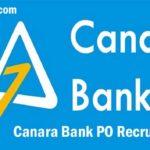 Canara Bank PO Recruitment