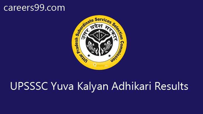UPSSSC Yuva Kalyan Adhikari Results