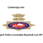 Chandigarh Police Constable Results 2018 – PET PMT Cut off Marks & Merit List