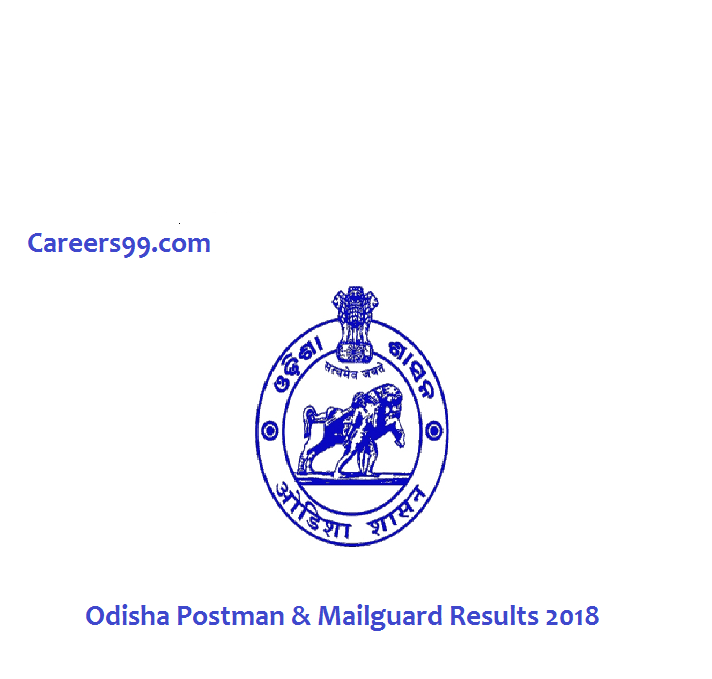 Odisha Postman and Mail Guard Results 2018