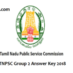 TNPSC Group 2 Prelims Answer Key 2018-CCSE 2 Results Release Date @ tnpsc.gov.in