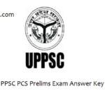UPPSC PCS Pre Answer Key