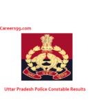 uttar pradesh police constable results