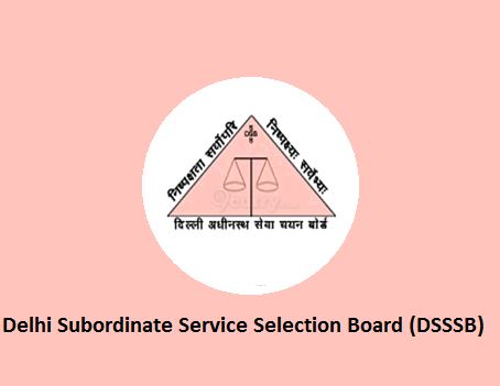 DSSSB JE AE REcruitment