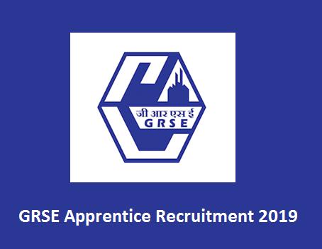 GRSE Apprentice Admit Card