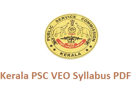 Kerala PSC Village Extension Officer Syllabus