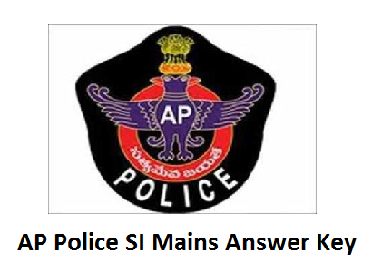 AP Police SI Final Answer Key