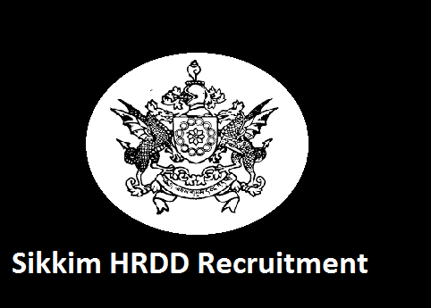 Sikkim HRDD Recruitment