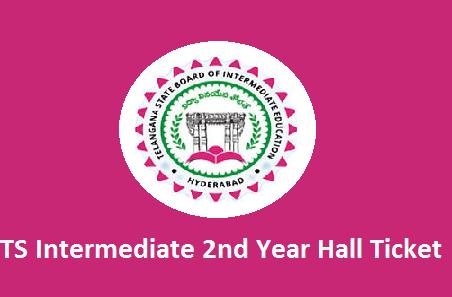 TS Intermediate 2nd year Hall Tickets