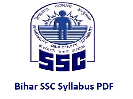 Bihar SSC Stenographer Syllabus