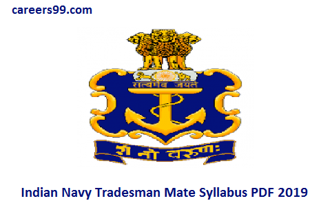 INdian Navy TMM Syllabus