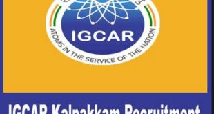 IGCAR Recruitment